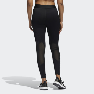 Tight 7/8 Techfit Period-Proof Nero Donna HIIT