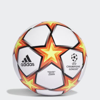 Fußball UCL Pyrostorm League Ball Weiß