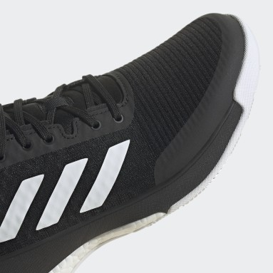 Women Netball Black CrazyFlight Volleyball Shoes