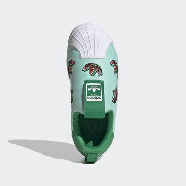 Kinder Originals Superstar 360 Schuh Türkis