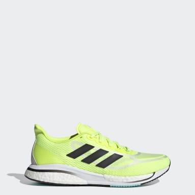 Men's Running Yellow Supernova+ Shoes