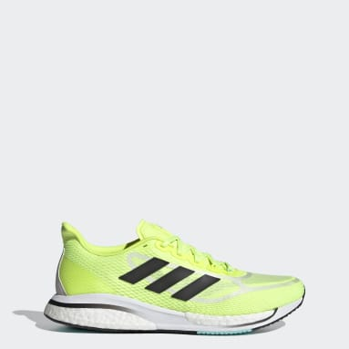 Men Running Yellow Supernova+ Shoes