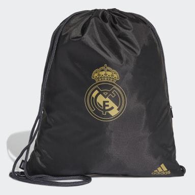 Bolsa Deportiva Real Madrid Negro Fútbol