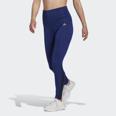 Women's Training Blue Feelbrilliant Designed to Move Twinkle 7/8 Tights