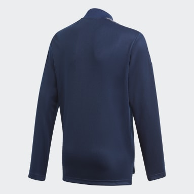 Youth 8-16 Years Football Blue Condivo 21 Primeblue Track Top