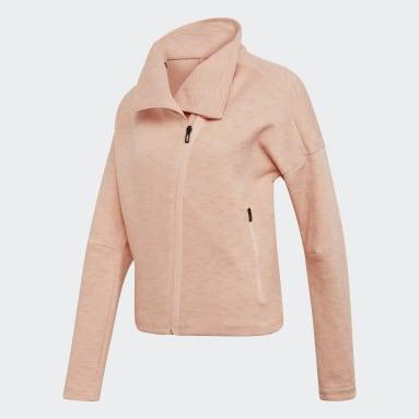 Women Sportswear Pink Heartracer Jacket