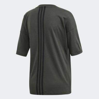 Camiseta Must Haves 3 bandas Gris Mujer Sportswear