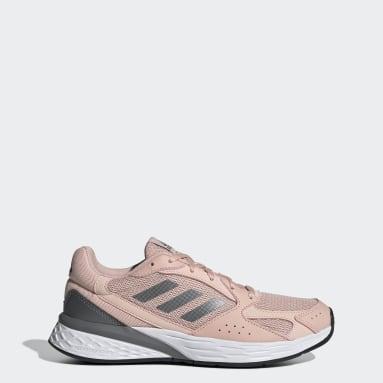 Women Running Pink Response Run Shoes