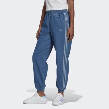 TRACK PANTS Blu Donna Originals