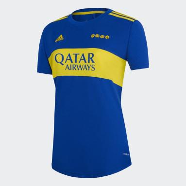 Camiseta Local Boca Juniors 21/22 Azul Mujer Fútbol