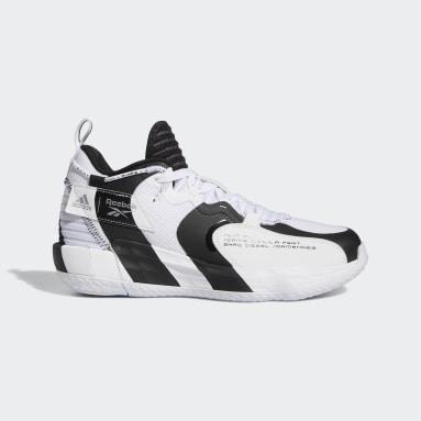 บาสเกตบอล สีขาว รองเท้า Dame 7 EXTPLY
