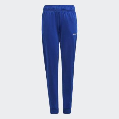 Kinderen Originals blauw Adicolor Trainingsbroek