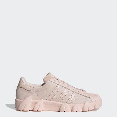 AC Superstar 80s Shoes Różowy