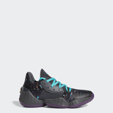 Kids Basketball Black Harden Vol. 4 Shoes