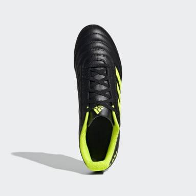Calzado de fútbol Copa 19.4 Multiterreno Negro Hombre Fútbol