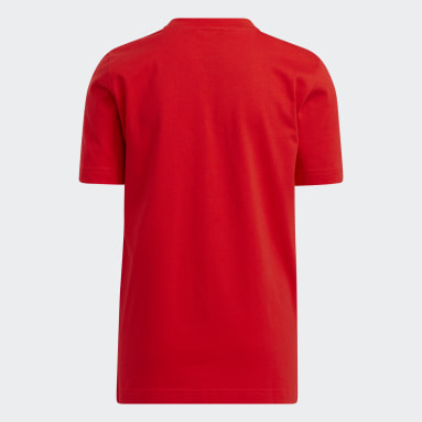 Kids Basketball Red adidas x LEGO® T-Shirt Damian Lillard