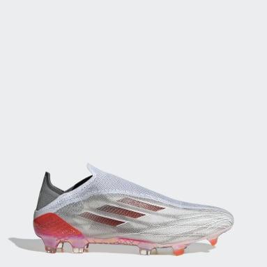 Fotbal bílá Kopačky X SPEEDFLOW+ FG