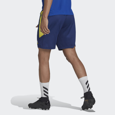 Men Football Blue Juventus Condivo Training Shorts