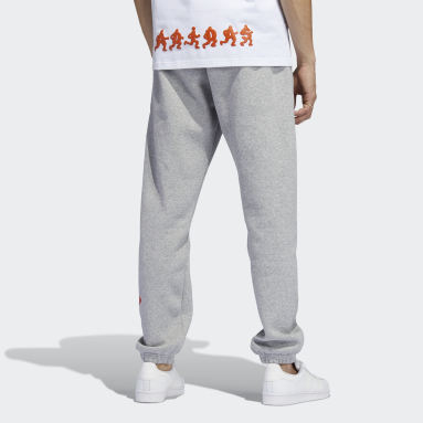 Men Originals Grey Logo Play Sweat Pants