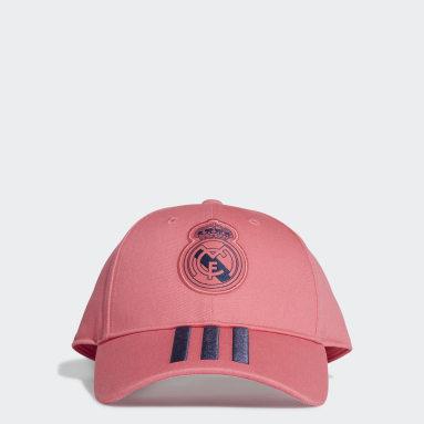 Cappellino Baseball Real Madrid Rosa Calcio