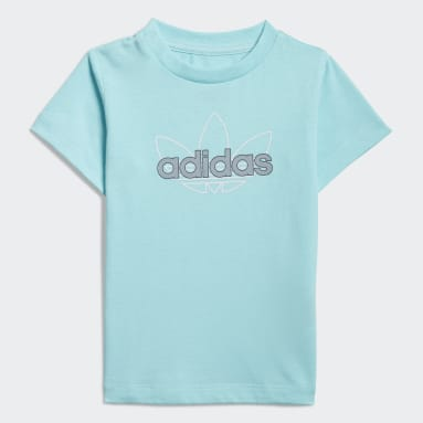 Polera Estampada adidas SPRT Collection Azul Niño Originals