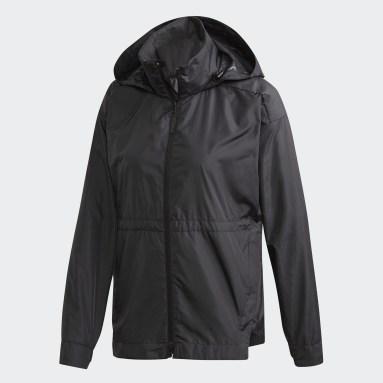 Women Essentials Black Traveer WIND.RDY Jacket