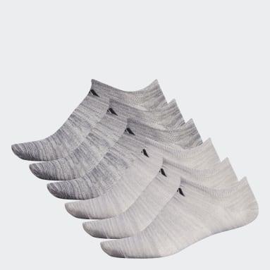 Men's Training Beige Superlite No-Show Socks 6 Pairs