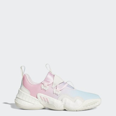 Chaussure Trae Young 1 Rose Basketball