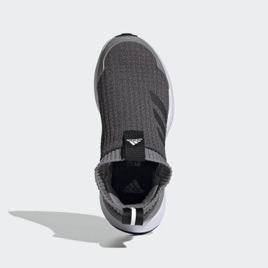 Children Running Grey RapidaRun LL Shoes