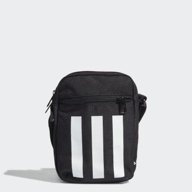Sac bandoulière Essentials 3-Stripes Noir Volley-ball