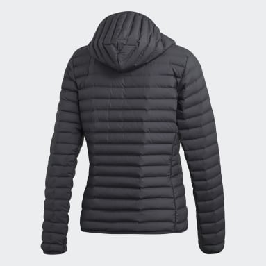 Kvinder Overtøj Med Gadestil Grå Varilite Soft Hooded jakke