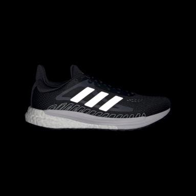 Women Running Black SolarGlide Shoes