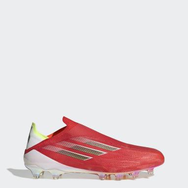 Men Football Red X Speedflow+ Artificial Grass Boots