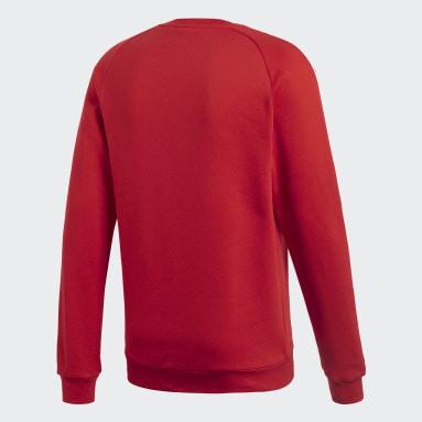 Sweat-shirt Core 18 Rouge Hommes Fitness Et Training