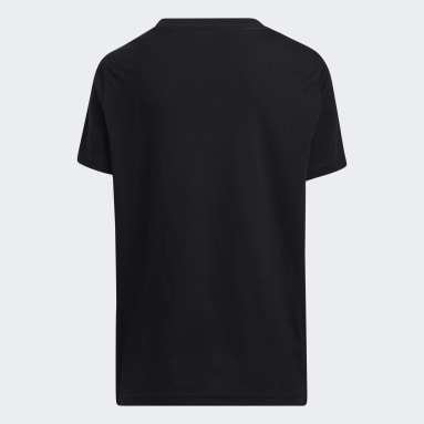 Youth Basketball Black Graphic Tee
