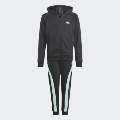 Girls Gym & Träning Svart Bold Hooded Track Suit