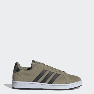 Zapatillas adidas Grand Court Verde Hombre Diseño Deportivo
