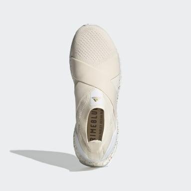 Women Running White ULTRABOOST 5.0 DNA SLIP-ONS