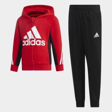 Survêtement Rouge Enfants Sportswear