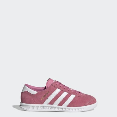 Youth 8-16 Years Originals Pink Hamburg Shoes