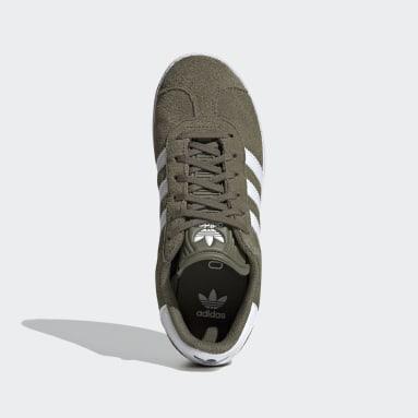Boys Originals Green Gazelle Shoes