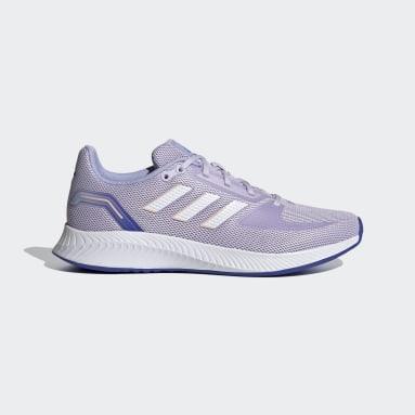 Women Running Purple Run Falcon 2.0 Shoes