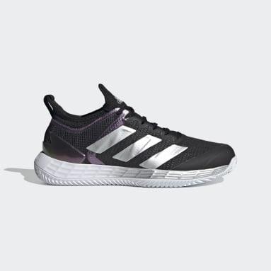 Women Tennis Black Adizero Ubersonic 4 Clay Shoes
