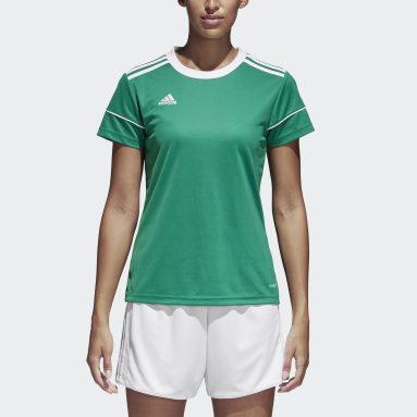 Maillot Squadra 17 Vert Femmes Football