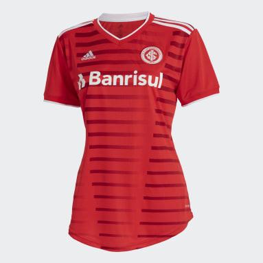 Camisa 1 Internacional 20/21 Vermelho Mulher Futebol