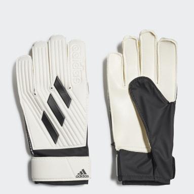 Kids Football White Tiro Club Goalkeeper Gloves