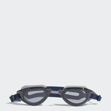 Swimming Blue persistar fit unmirrored swim goggle
