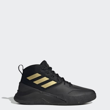 Men Basketball Black Own the Game Shoes