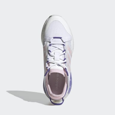 Women's Originals White ZX 2K Boost Pure Shoes