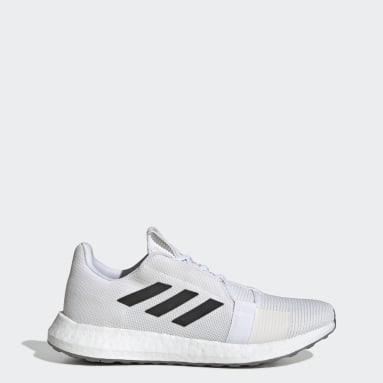 Men Running White Senseboost GO Shoes